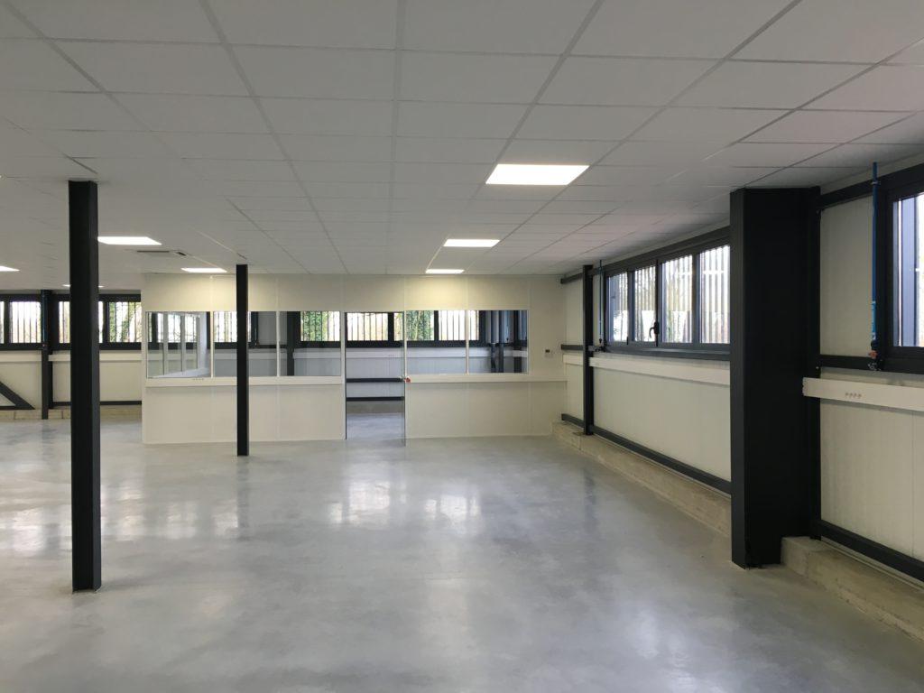 Rénovation de bureaux pour l'entreprise RUAG