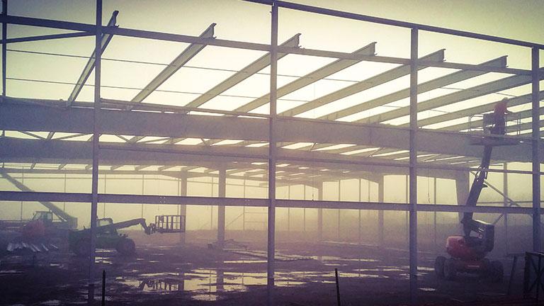 Construction Industrielle Clef en Main maîtrise d'ouvrage